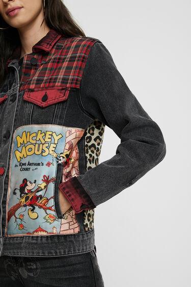 Veste en jean loose Mickey Mouse | Desigual