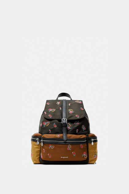 Medium paisley backpack