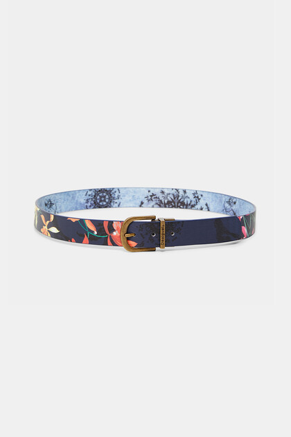 Reversible belt flowers