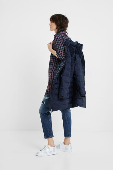 Slim padded jacket | Desigual