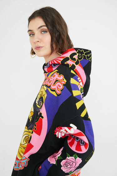 Japanischer Oversize-Sweater | Desigual