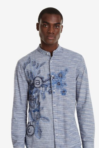 Chemise bleue bolimanie Colin