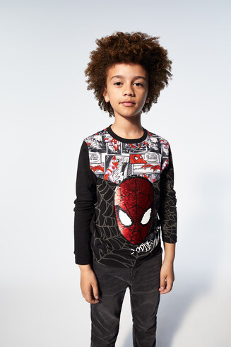 Sequin Spider-Man T-shirt