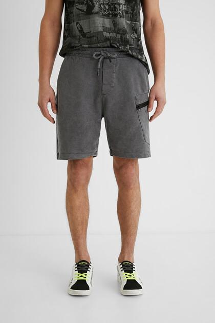 Plush short trousers