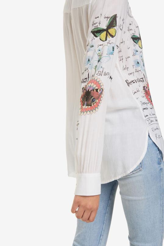 Mandarin Collar Blouse Daniela | Desigual
