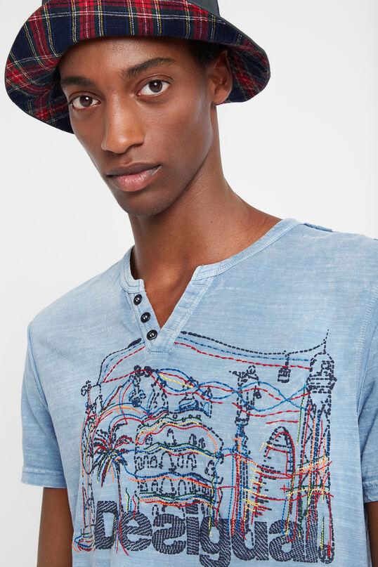 100% cotton Barcelona T-shirt | Desigual