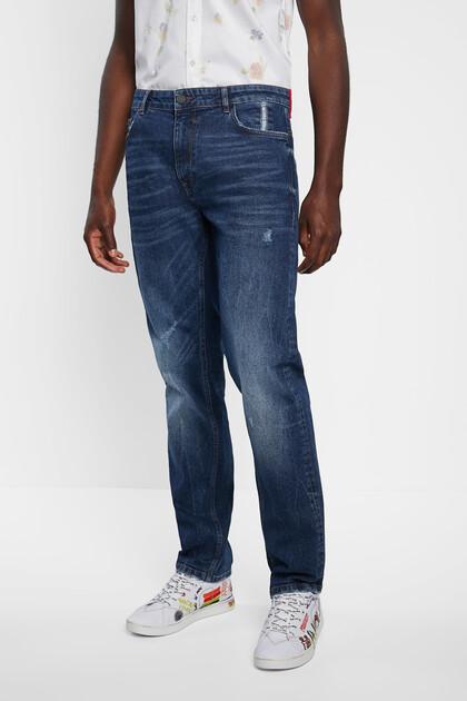 Długie spodnie dżinsowe