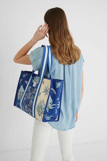 Bolso shopping bag flores | Desigual