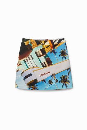 Mini-skirt South Beach