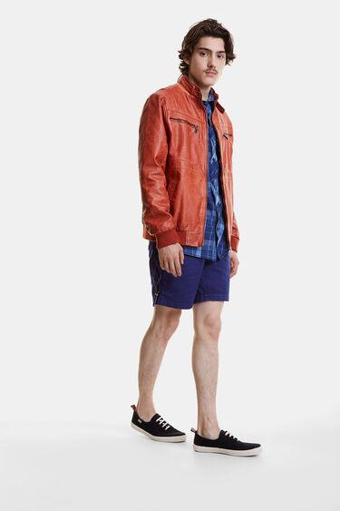 Veste motarde doudoune | Desigual