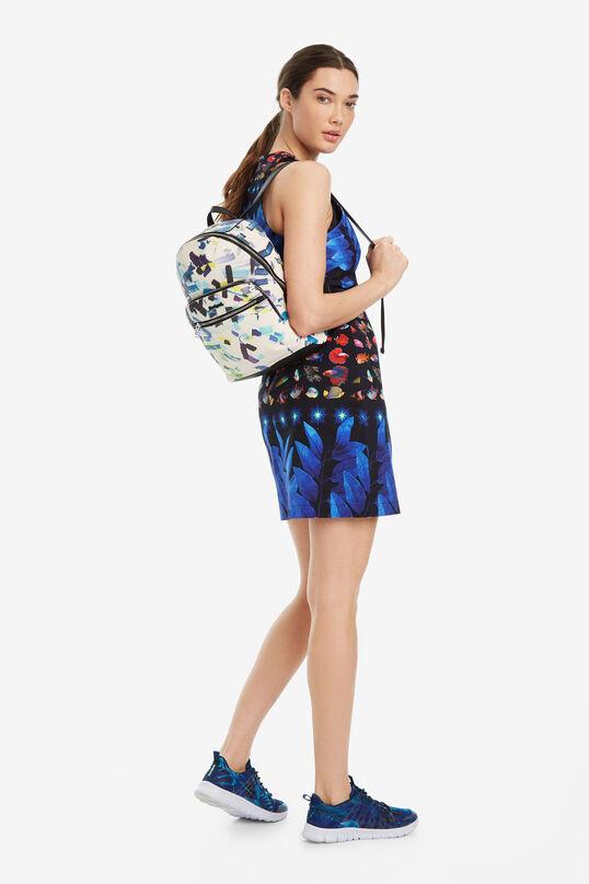 25d84b235e7713 Women's Backpack - Confeti Lima| Desigual.com