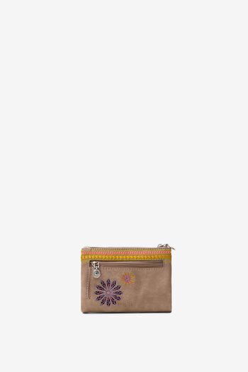 Portemonnee met geborduurde mandala's | Desigual