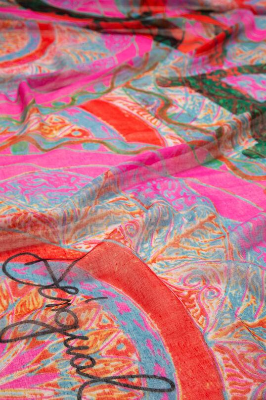 Rectangular Scarf Soft Mandala | Desigual