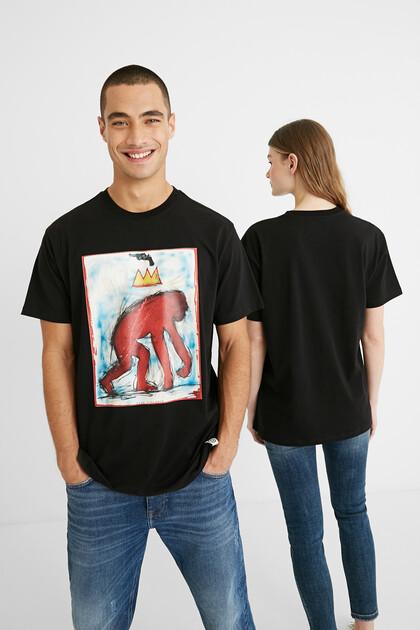 Oversize illustration T-shirt
