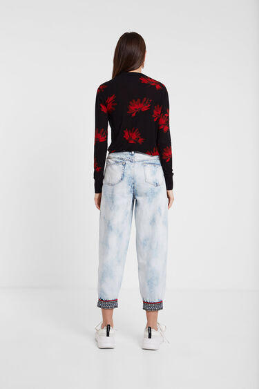 Long sleeve floral T-shirt | Desigual