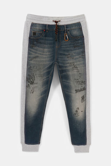 Pantalon hybride jean stylomania | Desigual