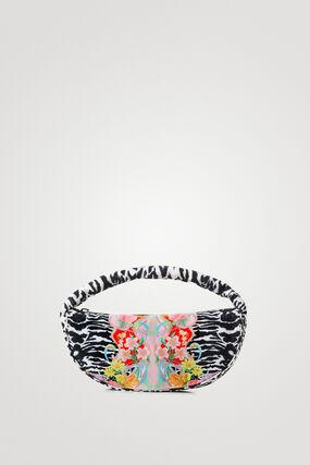 Zebra sling bag