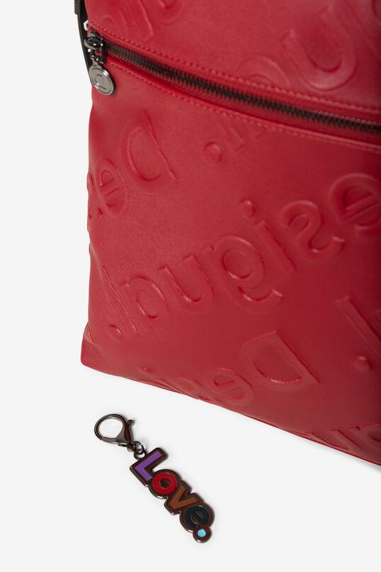 Embossed logomania backpack | Desigual