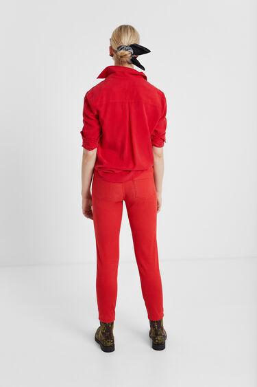 Skinny denim trousers | Desigual