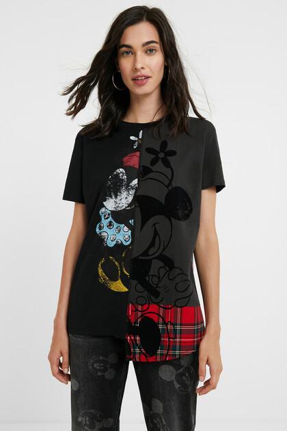 Minnie Mouse tartan T-shirt