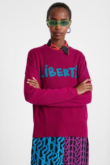 Liberté knit jumper | Desigual
