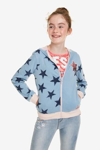 Sweatshirt omkeerbaar Bronte