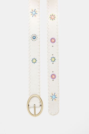 Cintura similpelle mandala | Desigual