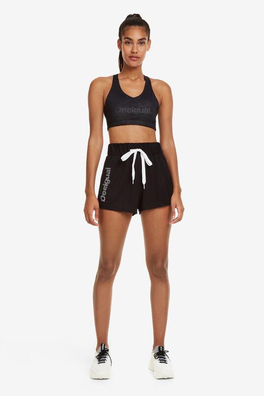 Shorts Essentials Black   Desigual