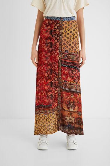 Long floral skirt | Desigual