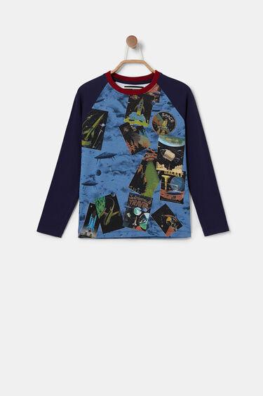 Organic cotton T-shirt raglan sleeve | Desigual