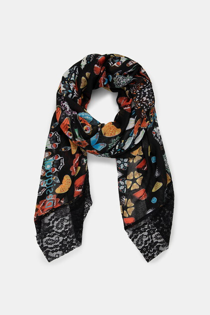 Fulard papallones galàctiques