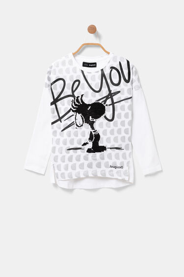 Snoopy T-shirt reversible sequins | Desigual