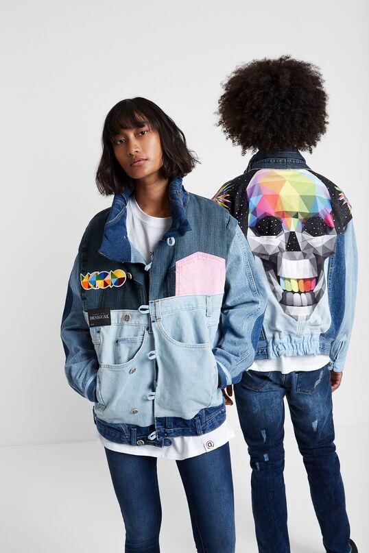 Iconic Jacket: Okuda Skull | Desigual