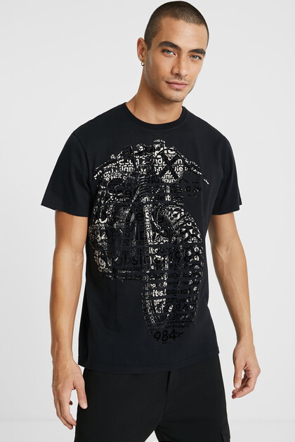 Texturized T-shirt