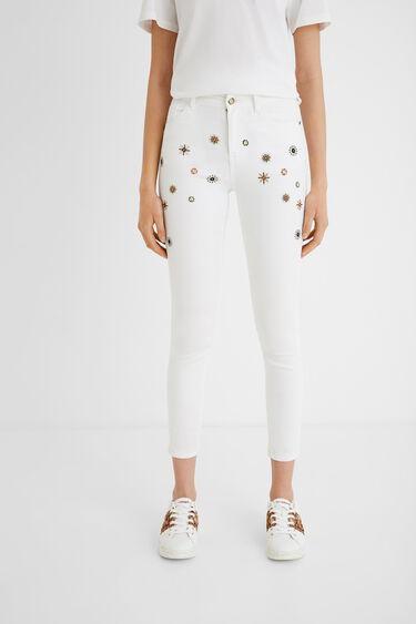 Skinny jeans cropped | Desigual
