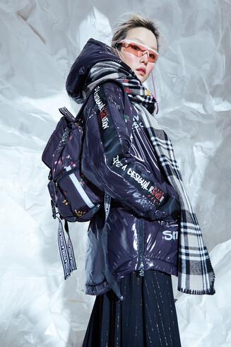 Oversize padded jacket