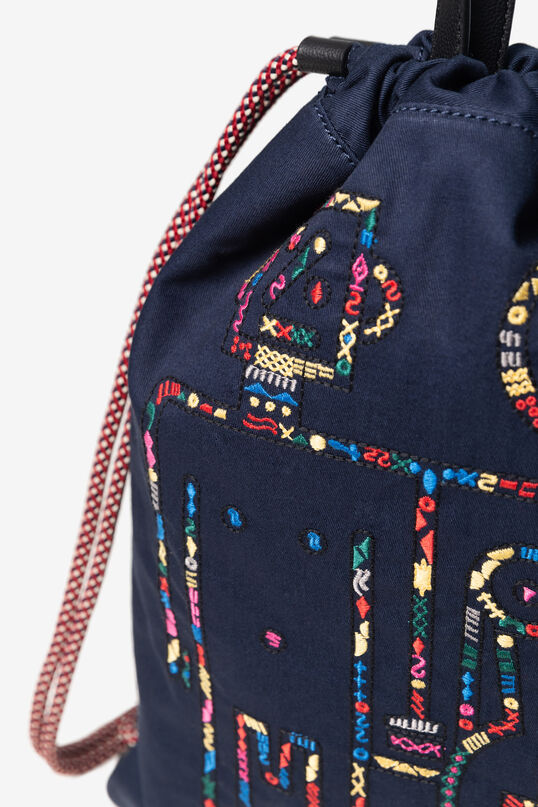 Robots strings backpacks | Desigual