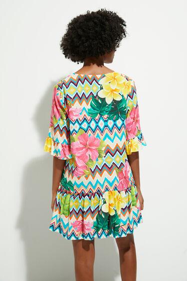 Short dress flowers | Desigual