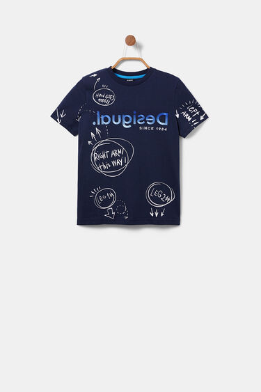 100% cotton bolimania T-shirt | Desigual