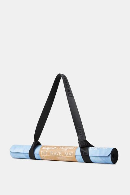 Yoga mat tie-dye