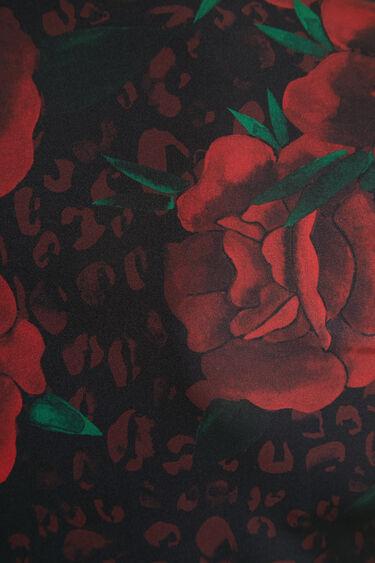 Slim-fit roses T-shirt | Desigual