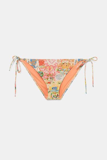 Lurex bikini bottom | Desigual