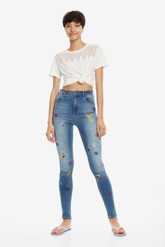 Slim High-Waist Jeans Maitai | Desigual
