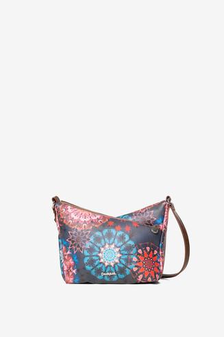 Galactic mandalas crossbody bag