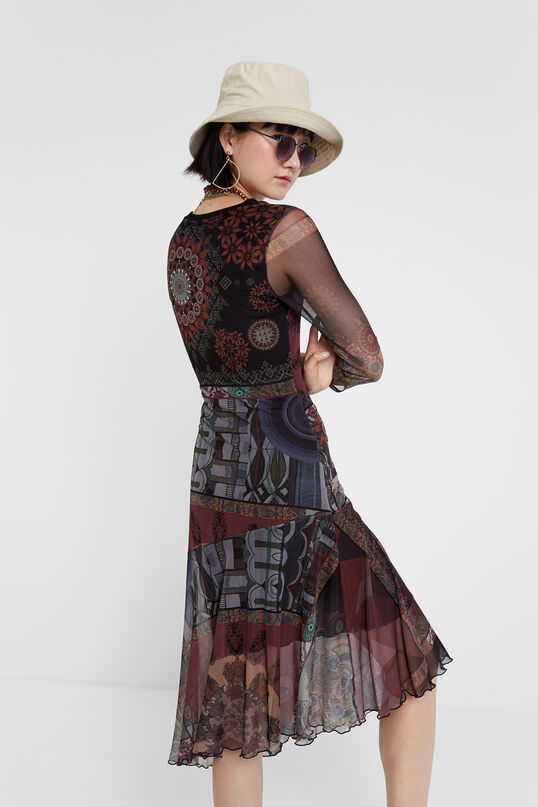 Boho multilayered dress | Desigual