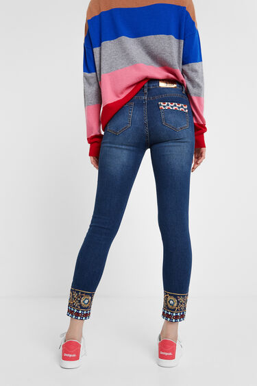Slim jean trousers | Desigual