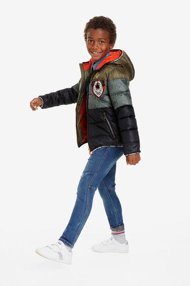 Padded reversible windbreaker jacket | Desigual