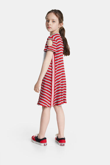 Ladybug-jurk met omkeerbare pailletten   Desigual