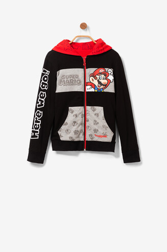 Super Mario Reversible Sweatshirt