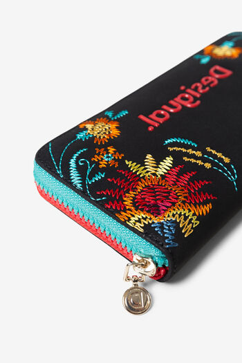 Floral print coin purse | Desigual